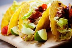 tacos цыпленка Стоковое Изображение