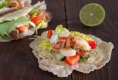 tacos цыпленка Стоковая Фотография RF