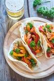 tacos цыпленка Стоковые Изображения