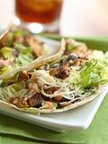 tacos 2 раковины цыпленка мягкий Стоковые Фотографии RF