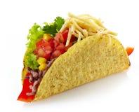 Μεξικάνικα τρόφιμα Tacos Στοκ φωτογραφία με δικαίωμα ελεύθερης χρήσης