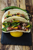 tacos Royaltyfri Bild