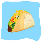 tacos Immagine Stock Libera da Diritti
