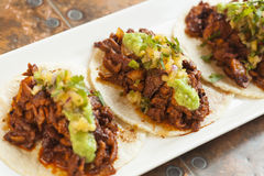 Tacos al Pastor stock photos