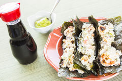 Tacos asados Hawaiian del sushi Fotos de archivo