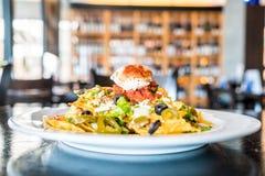 Tacos avec du boeuf image libre de droits