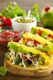 Tacos avec du porc Images stock
