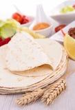 Tacos bread Royalty Free Stock Image