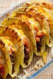 Tacos cocido al horno imagen de archivo