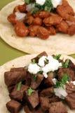 Tacos délicieux chaud Images libres de droits
