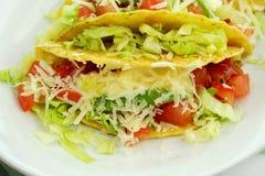 Tacos da carne Fotografia de Stock