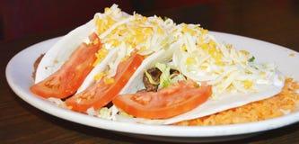 Tacos de bifteck photo stock