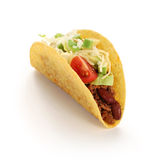 Tacos de la carne de vaca Fotografía de archivo libre de regalías