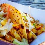 Tacos de peixes Foto de Stock