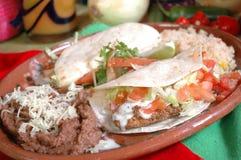 Tacos de pescados Imagen de archivo libre de regalías