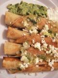 Tacos de pollo Foto de archivo