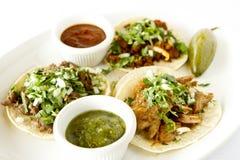 Tacos de style de rue Image stock