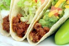 Tacos del manzo Immagini Stock Libere da Diritti