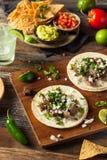 Tacos fait maison de rue de Carne Asada photos libres de droits