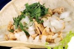 Tacos gastronome fin photo libre de droits