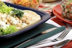 Tacos gastronome fin image libre de droits