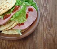 Tacos ham Stock Photo