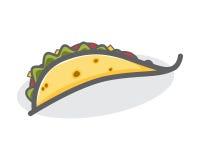 Tacos kulinarisch vektor abbildung