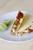 Tacos de poissons Image stock