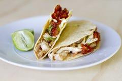 Tacos de poissons Images libres de droits