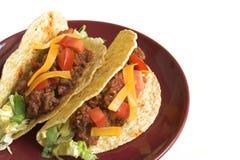 Tacos messicano Fotografie Stock
