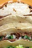 Tacos messicano Fotografia Stock Libera da Diritti
