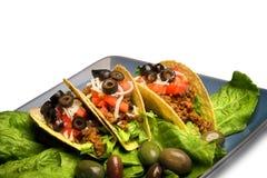 Tacos messicano, isolato fotografia stock libera da diritti