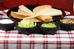 Tacos mexican perfect meal Stock Image
