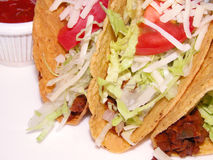 Tacos Mexican sandwich Stock Photography