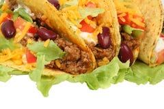 Tacos mexicano imagem de stock royalty free