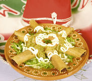 Tacos mexicano Foto de archivo libre de regalías