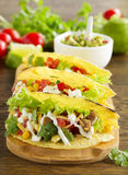 Tacos with pork Royalty Free Stock Image