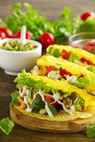 Tacos with pork royalty free stock images