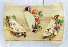 Tacos végétal rôti photos libres de droits