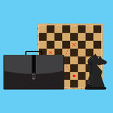 Tactic and strategy in business Royalty Free Stock Photo