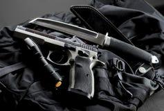 Tactical gun Stock Image