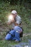 Tactical Maneuver Stock Photo