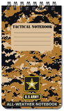Tactical notebook for the army Stock Photos
