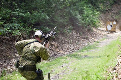 Tactical Shooting royalty free stock photos