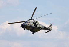 Tactical troop helicopter NH90 Royalty Free Stock Images