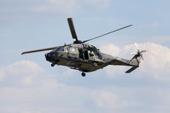 Tactical troop helicopter NH90 Royalty Free Stock Image