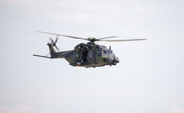 Tactical troop helicopter NH90 Stock Photos