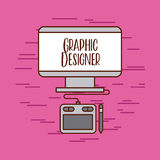 Tactile graphic designer ideas Stock Images