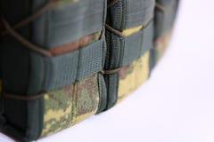Tactisch Vest voor leger met kogelvrij en munitie royalty-vrije stock afbeeldingen