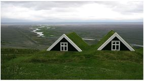 Tacto de Islandia Fotografía de archivo libre de regalías